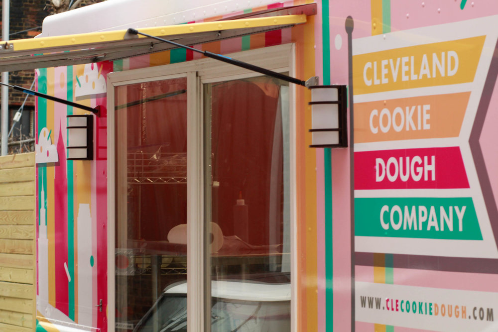 Cleveland Cookie Dough Co. - serves up delectable, edible and dough-licious cookie dough made in Cleveland, Ohio.