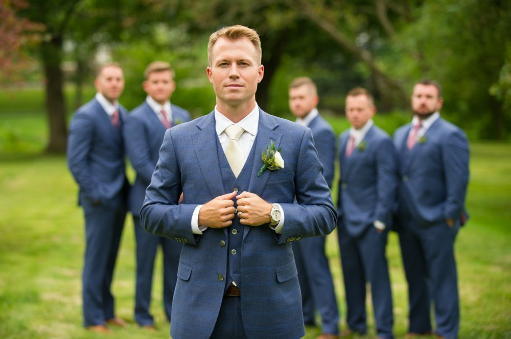 Savile Lane Groomsmen Attire -