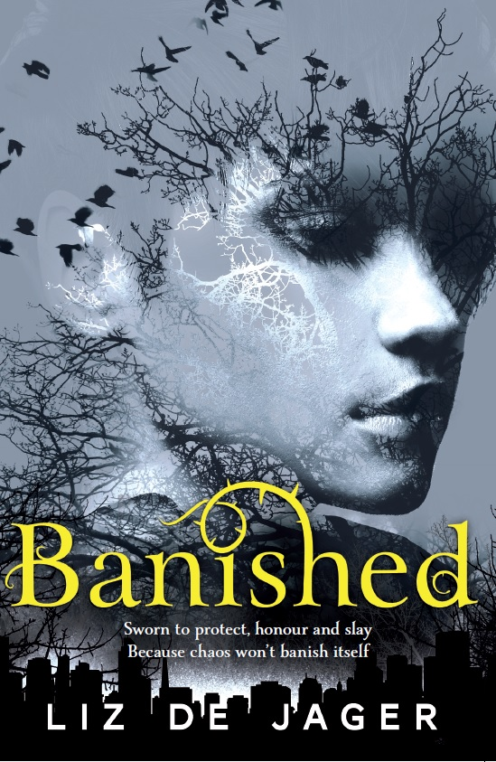 Banished by Liz de Jager (Vowed is published in November)
