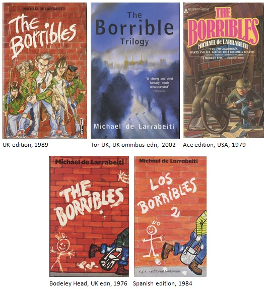 Borribles cover art 2