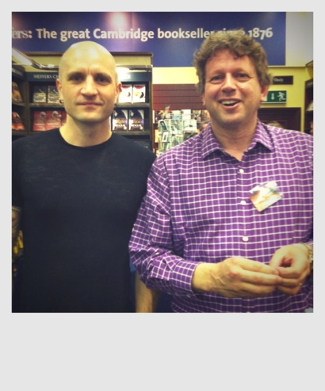 China Mieville and Peter F Hamilton