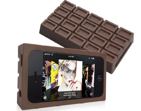 Chocolate style silicone iphone case