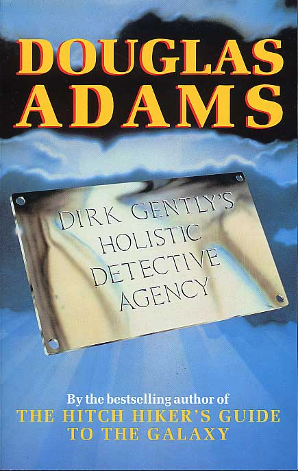 Dirk Gently's Holistic Detective Agency: cover illustration Lionel Jeans