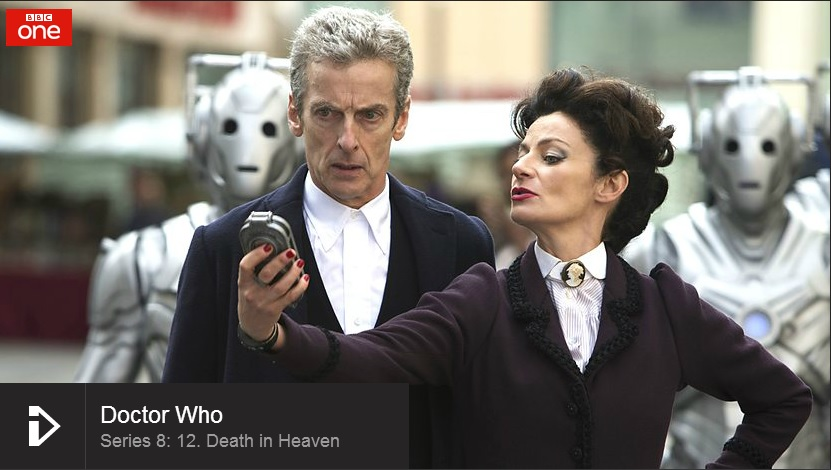 Doctor Who - link to episode on BBC iplayer