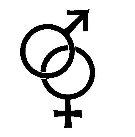 Female - male symbol