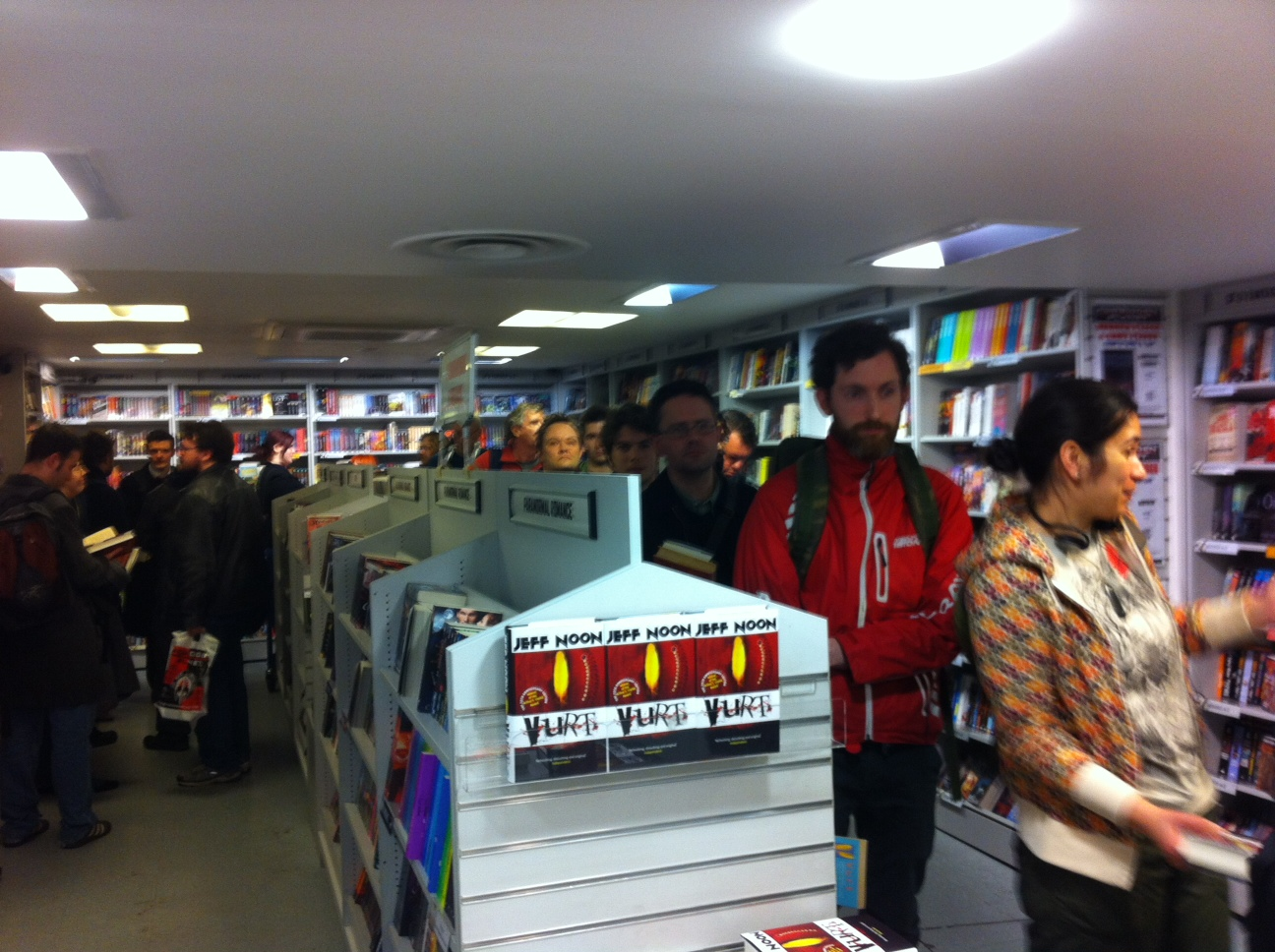 Images from Forbidden Planet launch event for the VURT anniversary edn.
