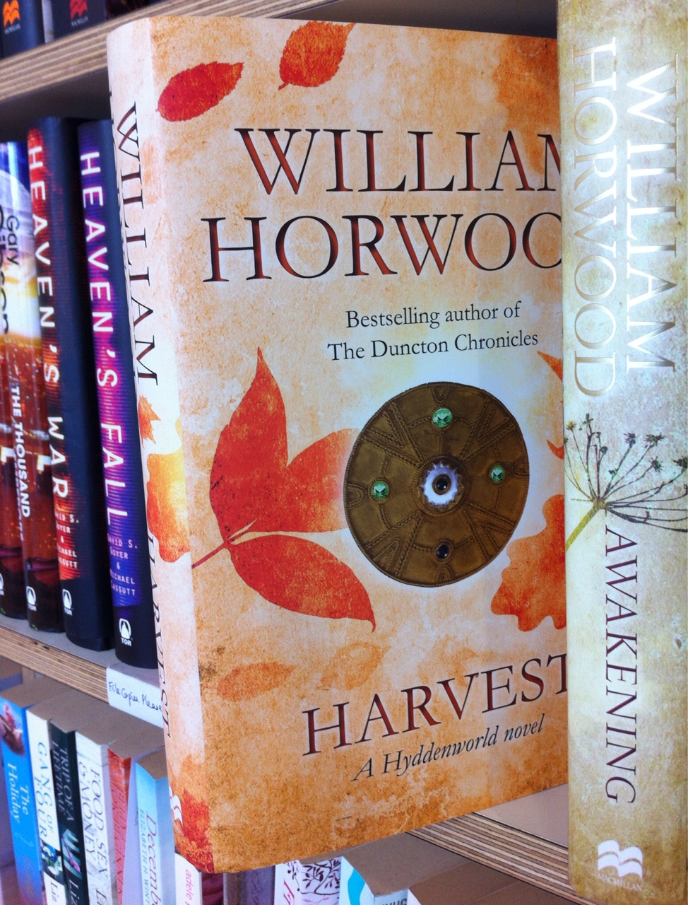 Harvest by William Horwood - foil on front and spine