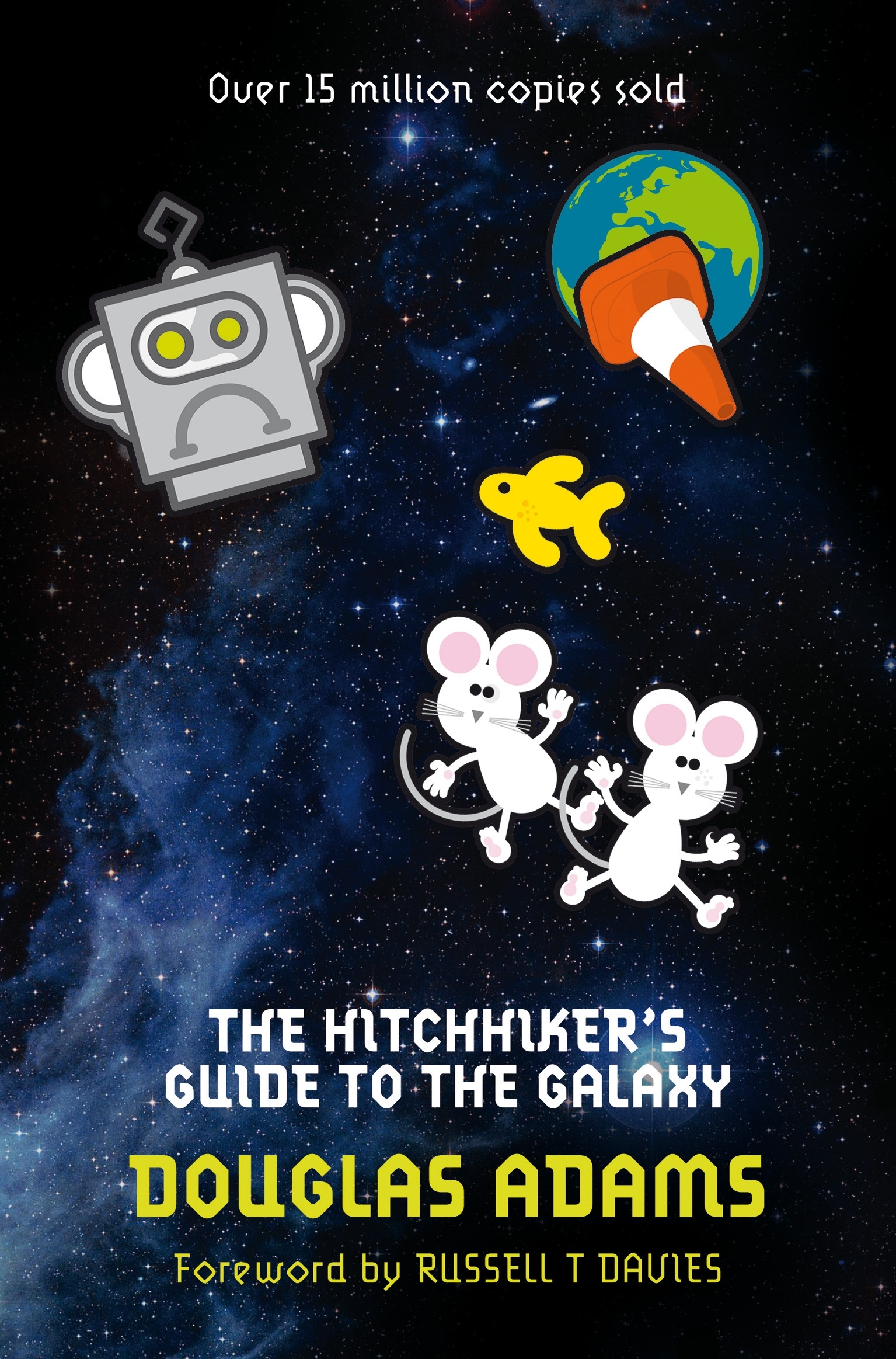 The Hitchhiker's Guide to the Galaxy new cover