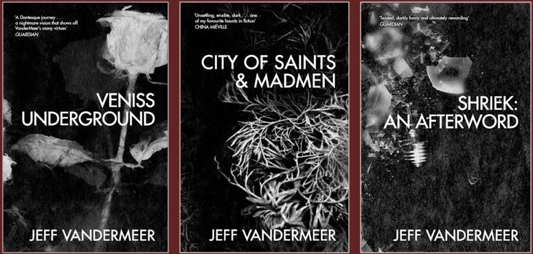 Our Jeff VanderMeer reissues