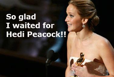 Jenn and Hedi - wishful thinking!