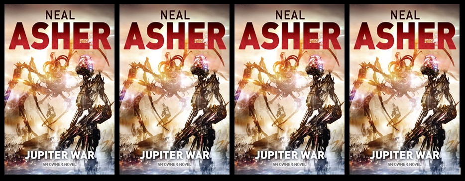 Jupiter War-by Neal Asher