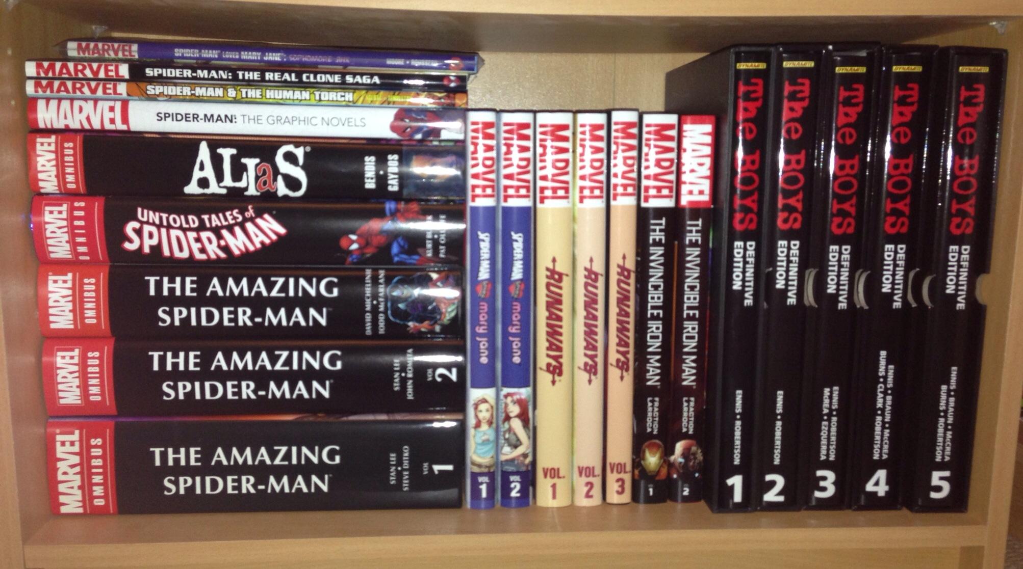 Kerry's Marvel books