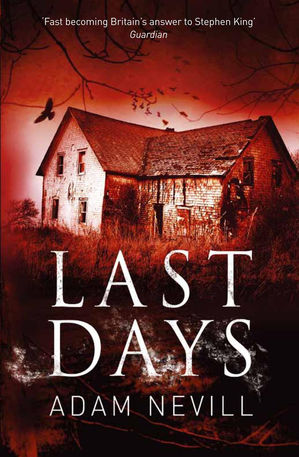 Last Days pb cover