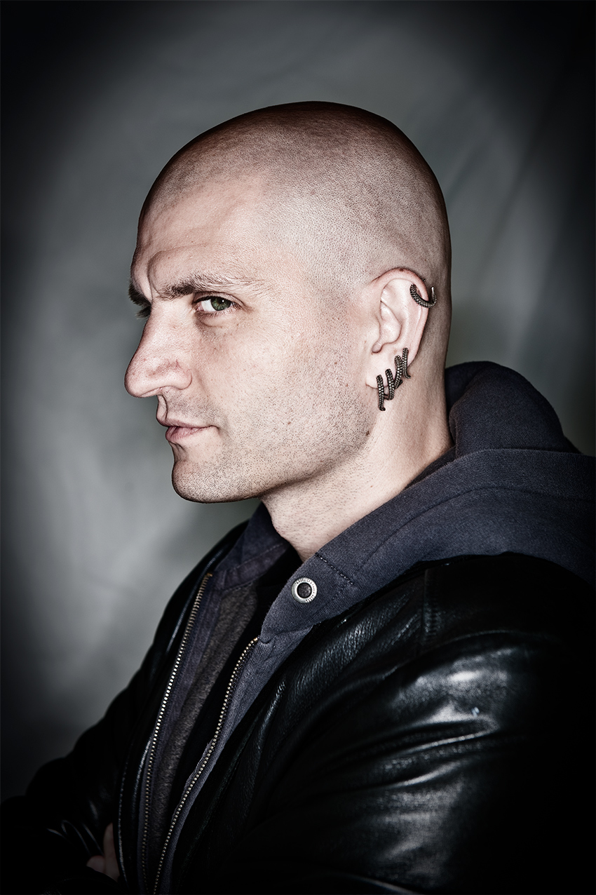 China Mieville by Chris Close