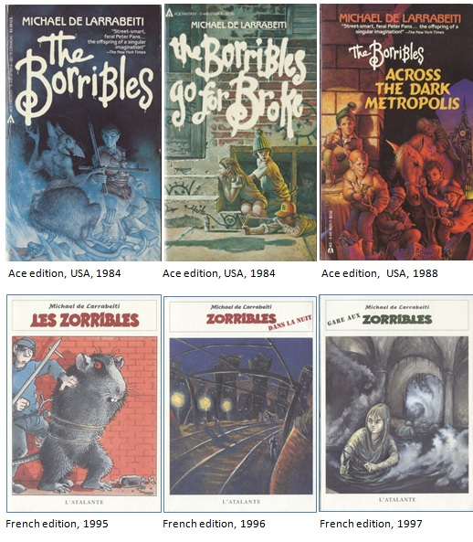 Old Borribles cover art