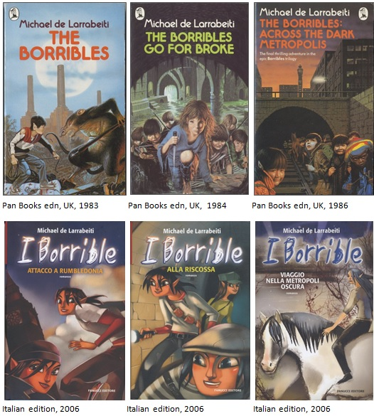 Old Borribles covers