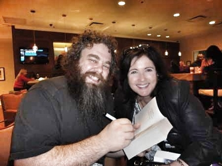 Patrick Rothfuss and Leigh Evans - in Toronto Nov 2012