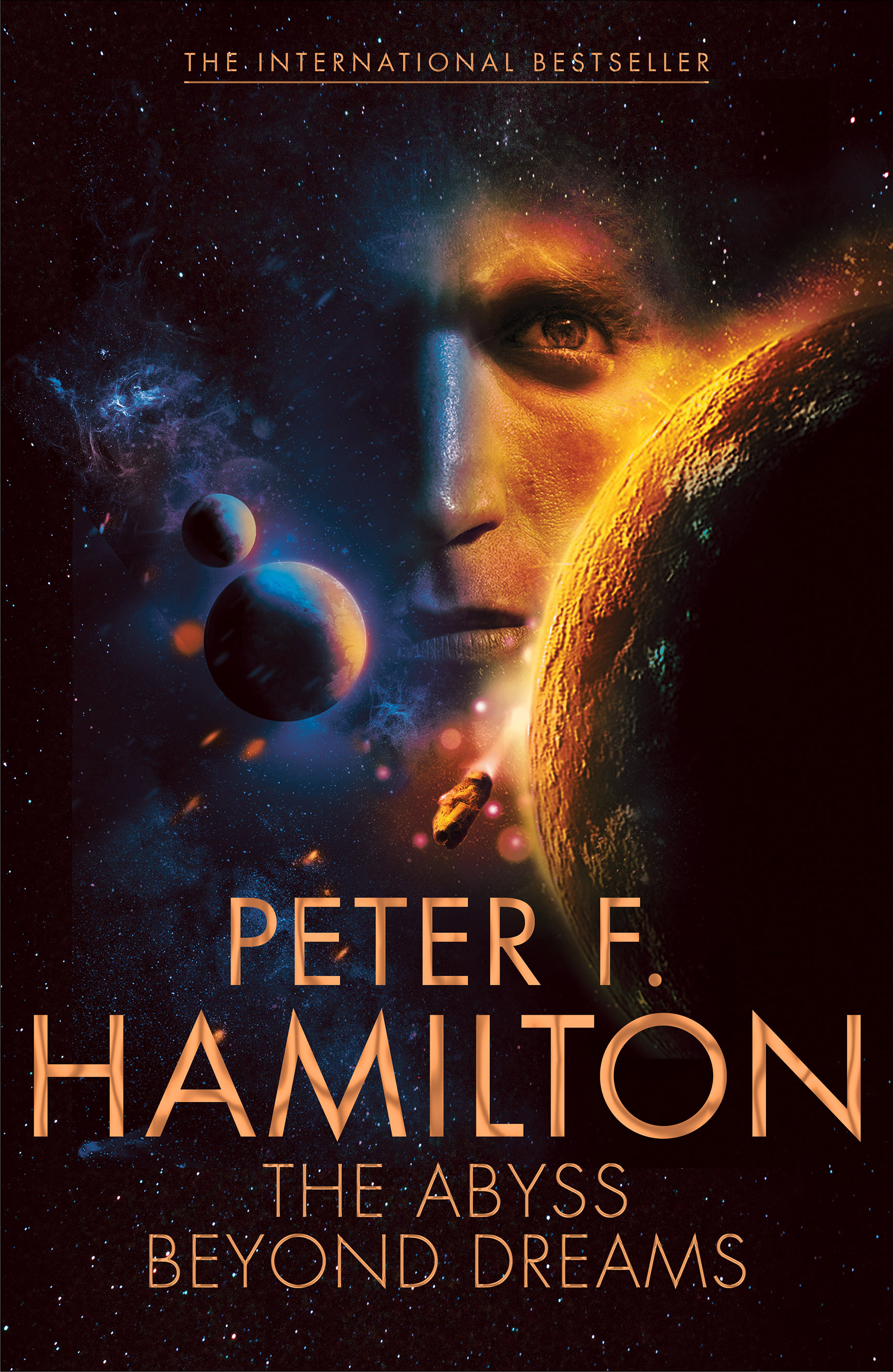 Peter F Hamilton blue gold