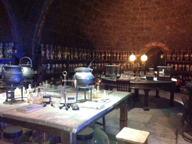 Potter tour - Snape's potions