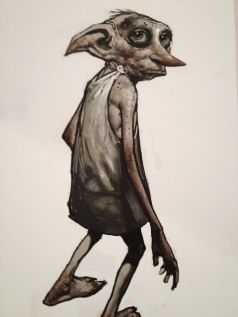 Potter tour-house elf