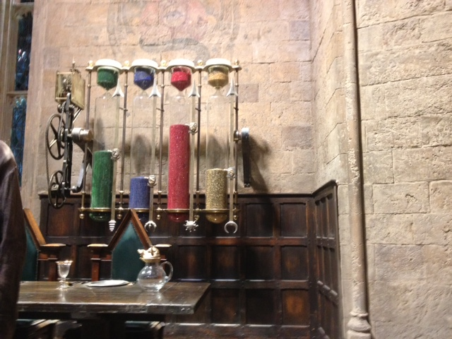 Potter tour - set