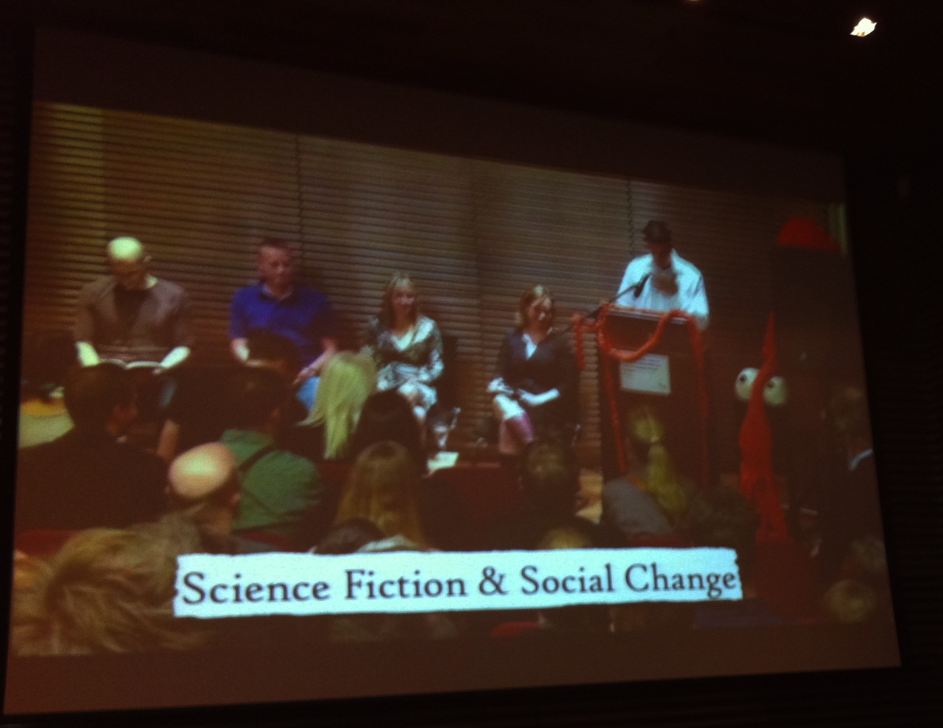 Kitchies' SF and Social Change event: China Miéville, Patrick Ness, Lauren Beaukes, Anne Perry