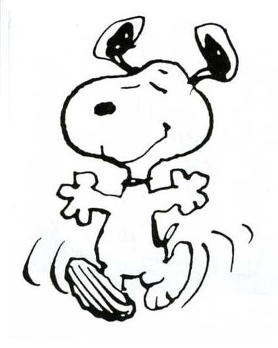 Snoopy dance!