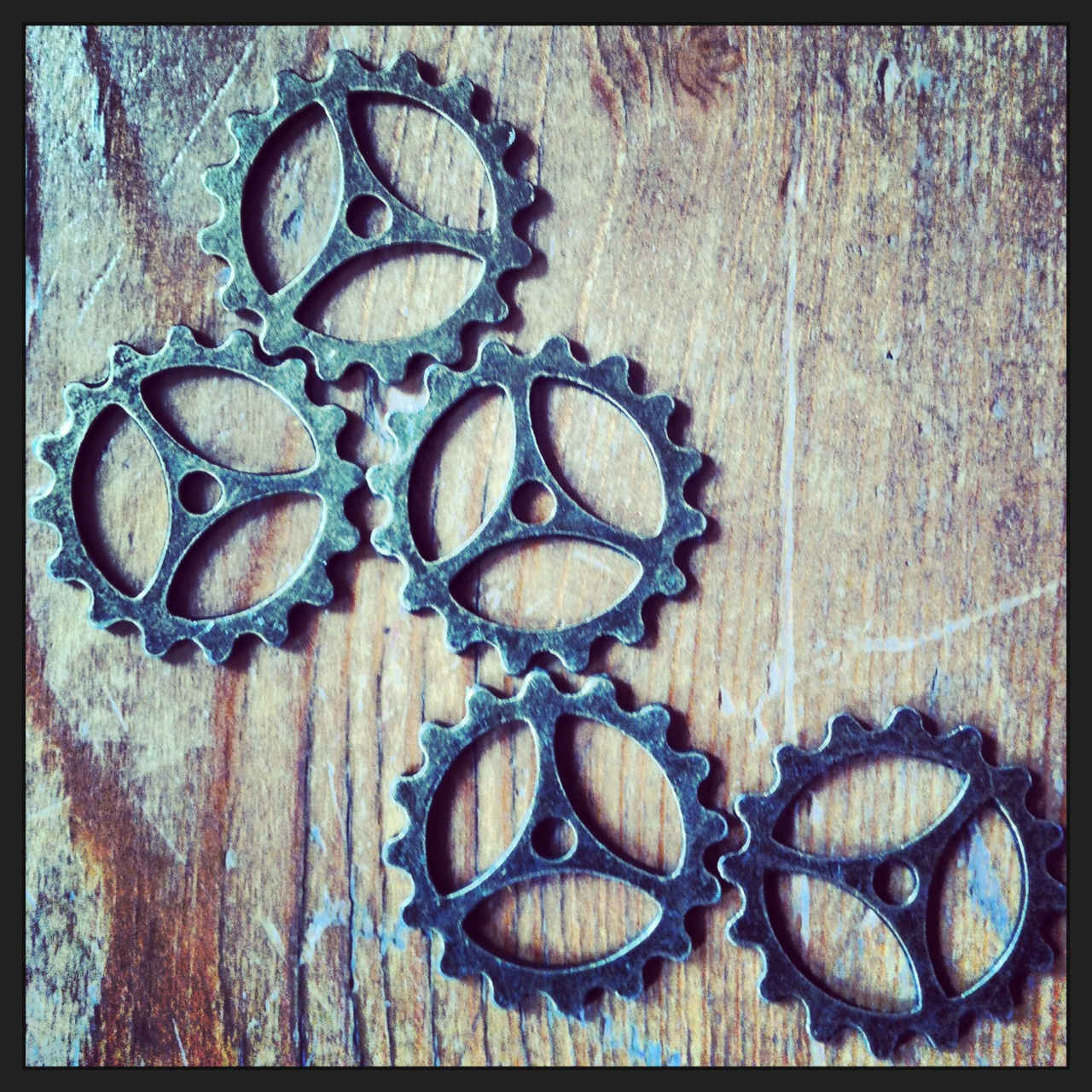Steampunk cogs