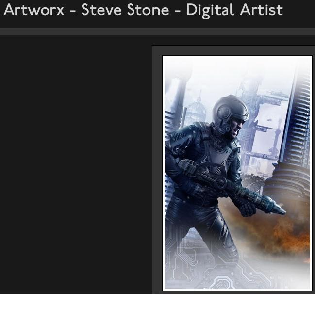 Steve Stone portfolio - www.stevestoneartworx.com
