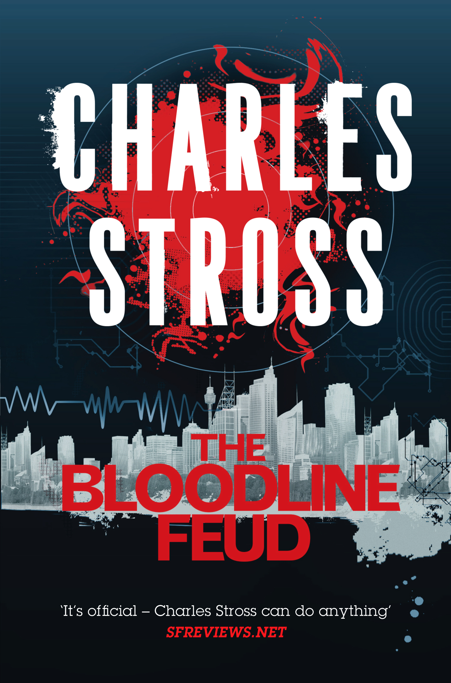 THE BLOODLINE FEUD: Tor UK omnibus reissue of original series