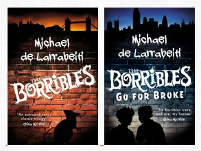 The Borrible Trilogy cover art