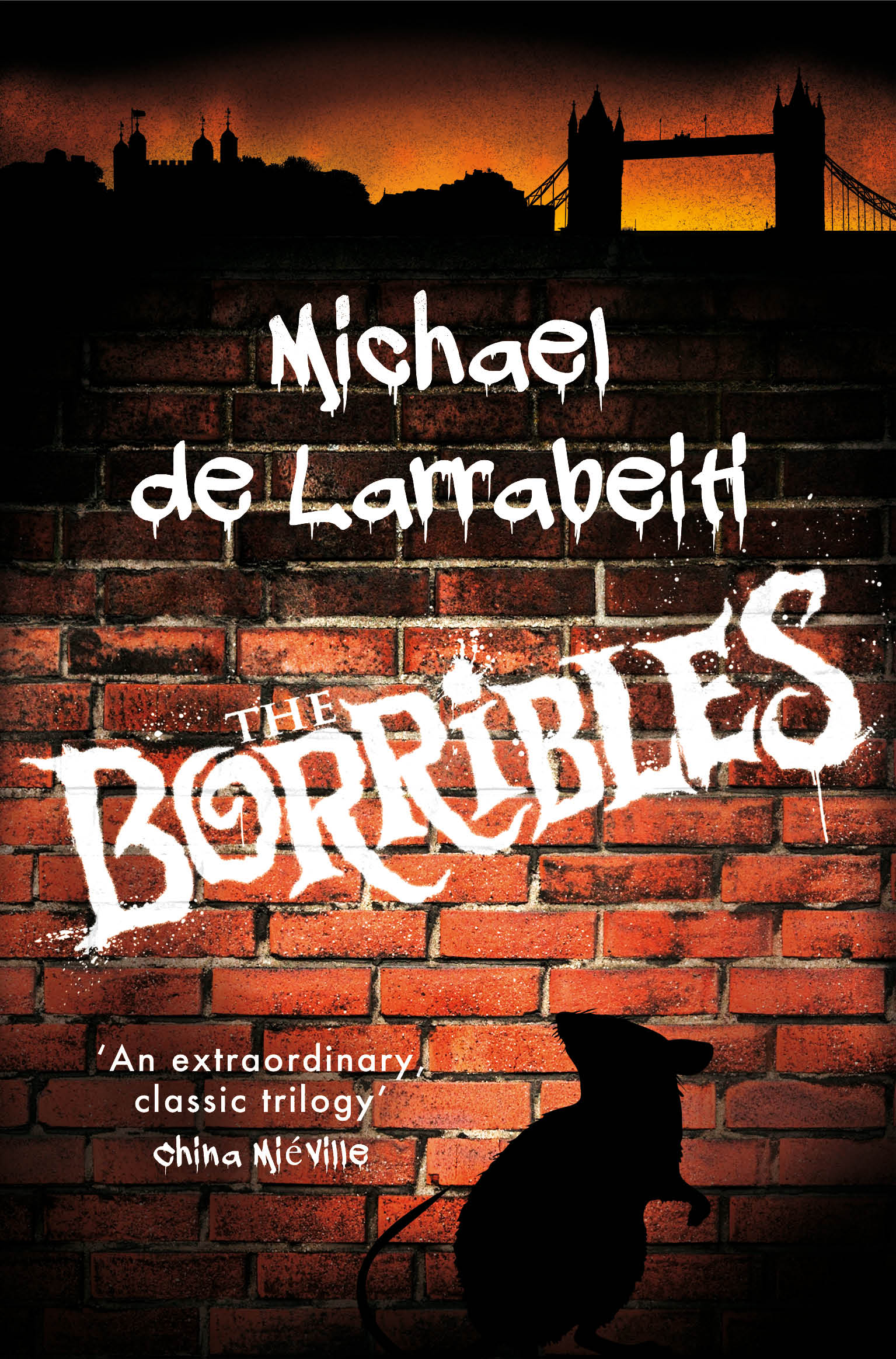 The Borribles - our new ebook cover