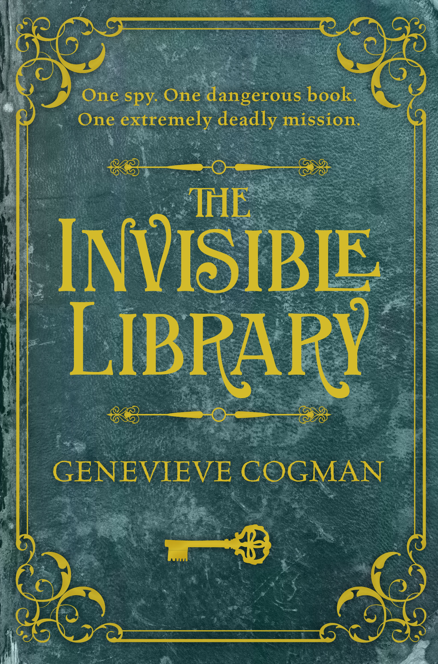 The Invisible Library -  early proof cover