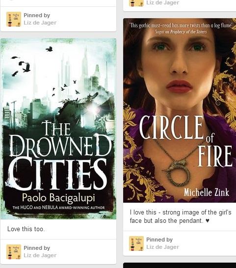 Covers I love - taken from Blackhart inspiration Pinterest boards