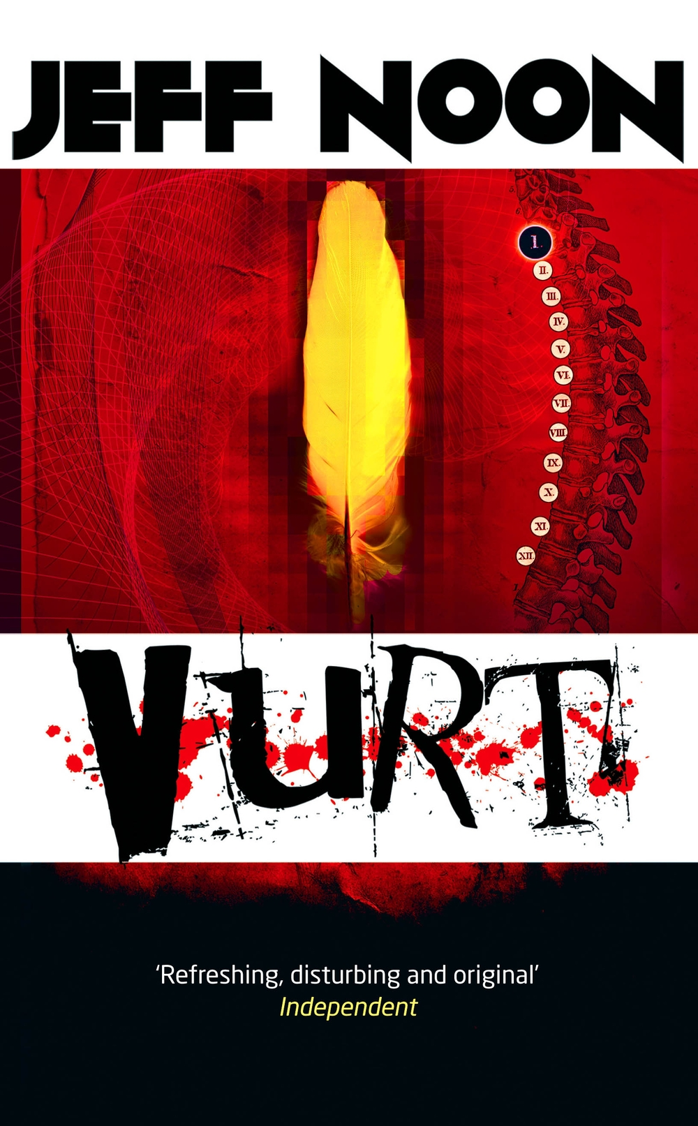 Vurt by Jeff Noon - cover design by Curtis McFee