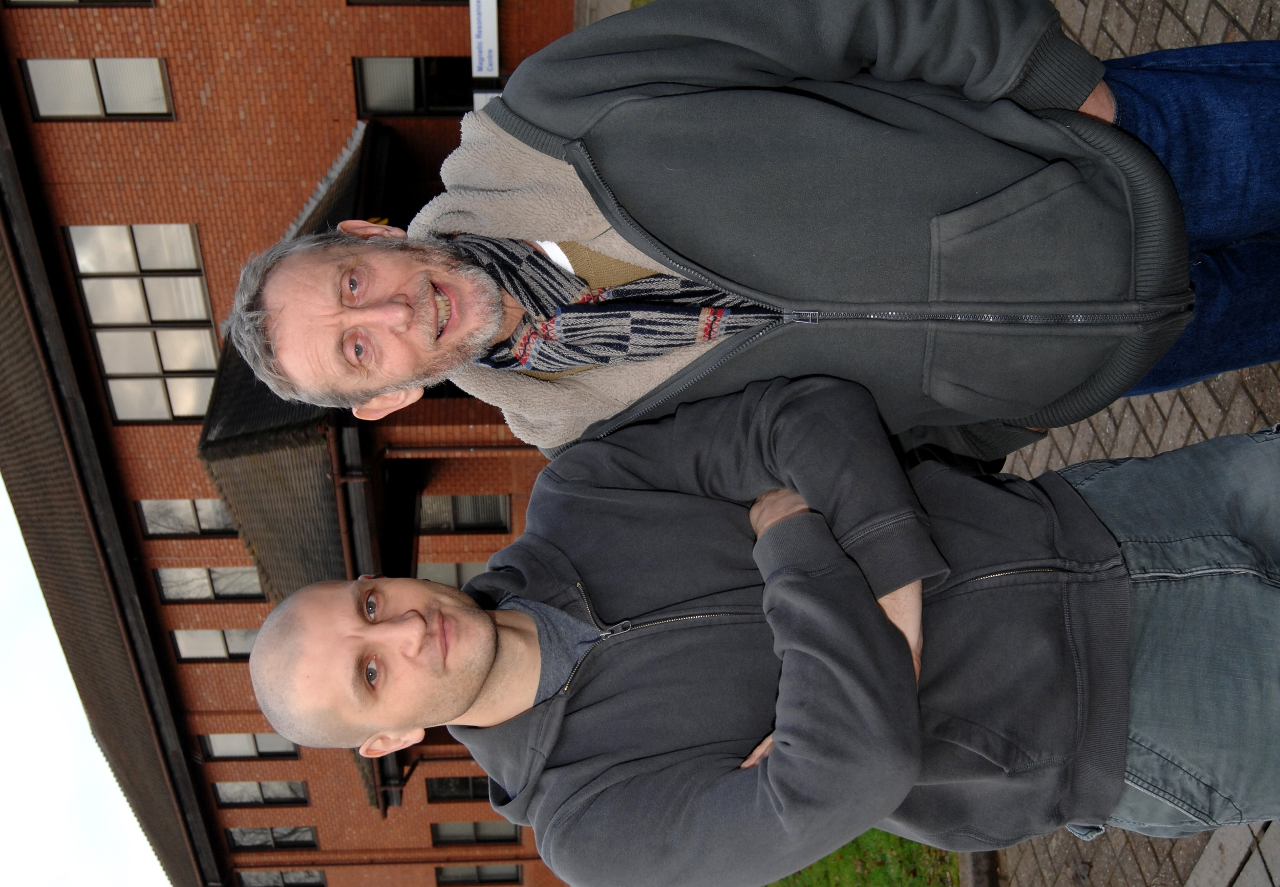 University staff - China Mieville and Michael Rosen