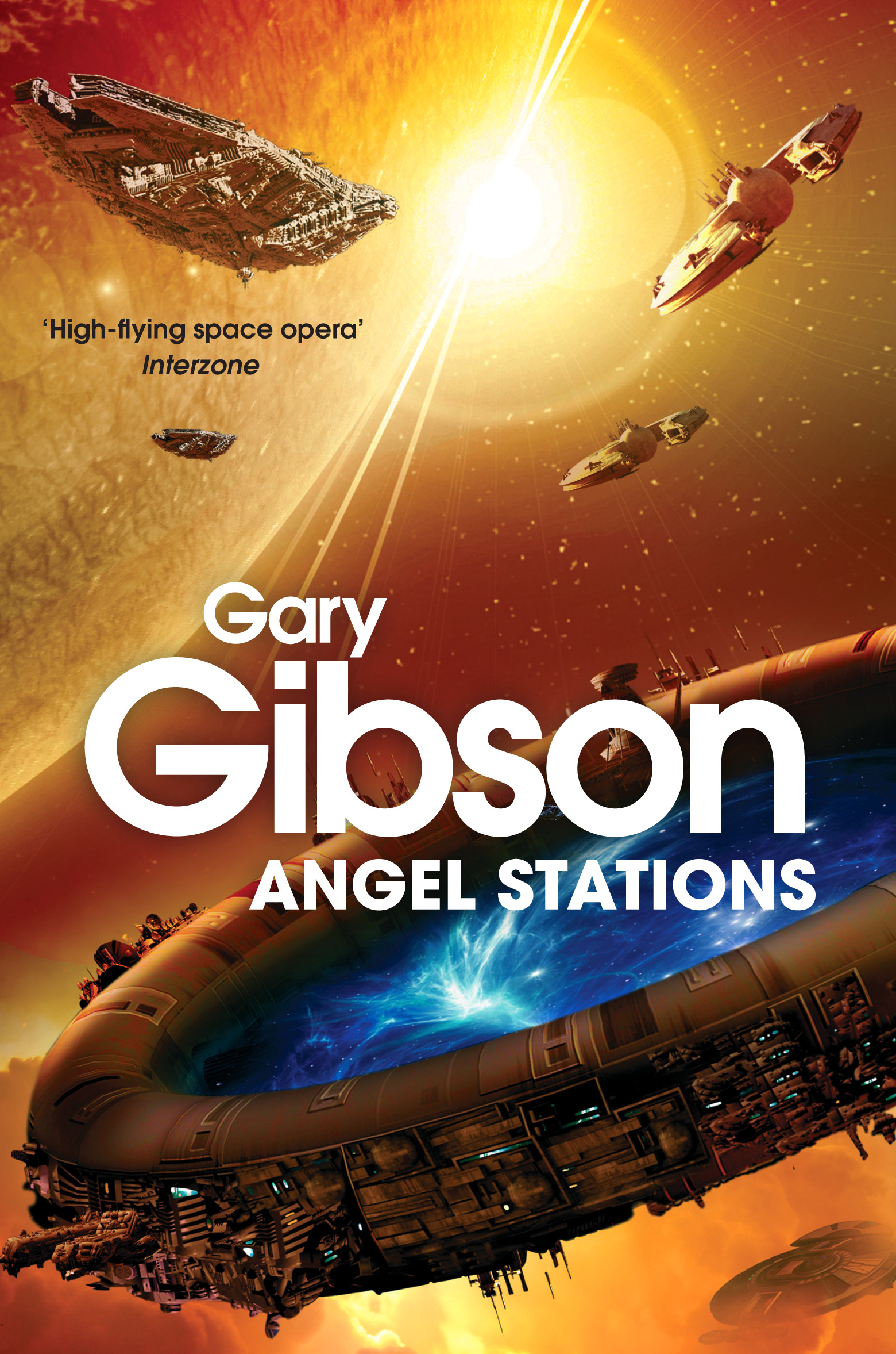 Angel Stations by Gary Gibson