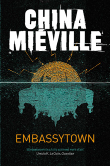 Embassytown by China Mieville: cover design by Crush