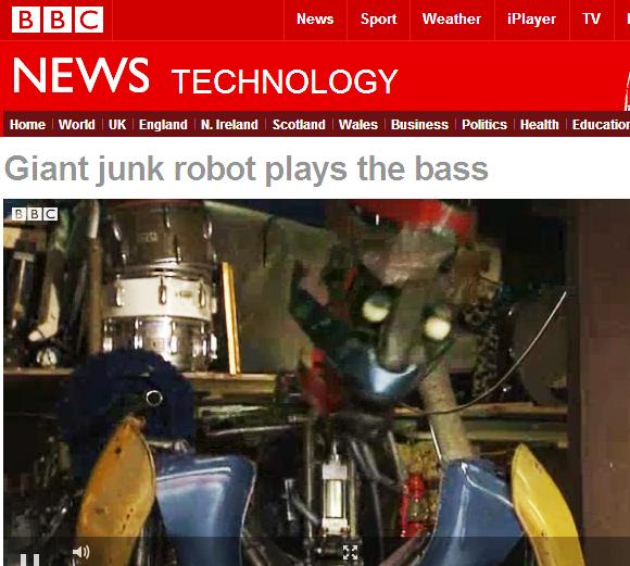 Junk Robot - Source - BBC Science / bbc.co.uk - © 2012 BBC
