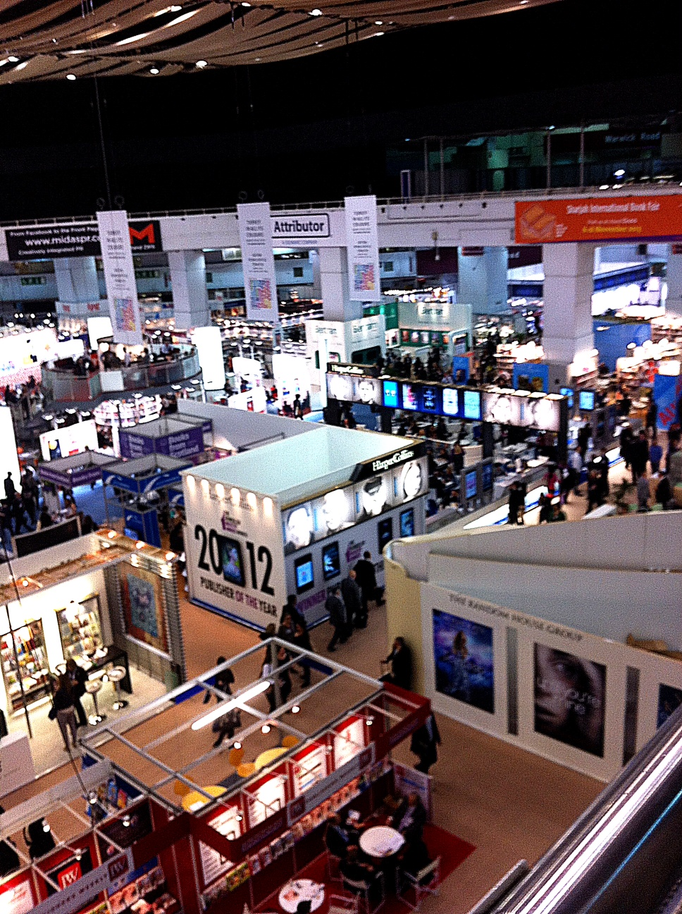 London Book Fair - ground floor