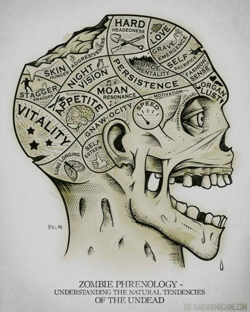 zombie phrenology