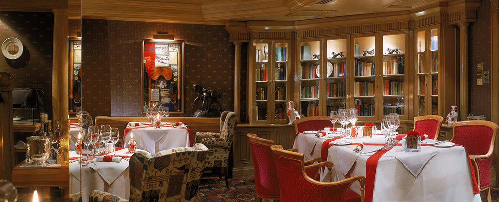 The Library Restaurant, The Rubens Hotel