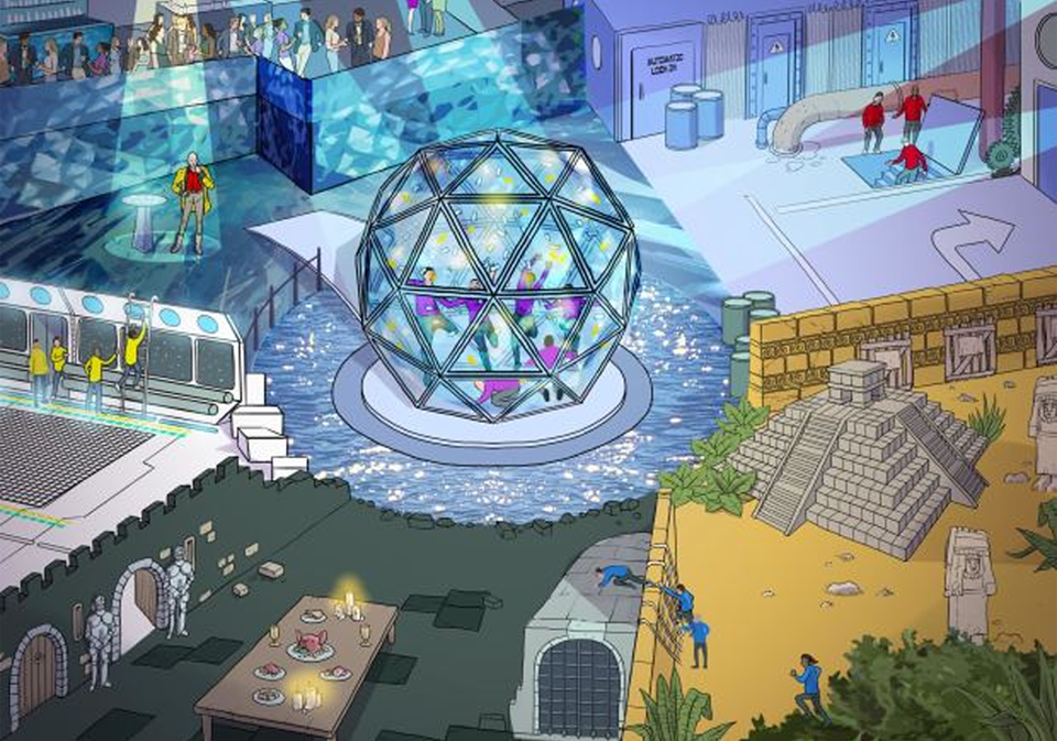 The Crystal Maze Experience, London