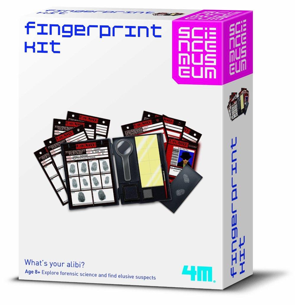 Science Museum Fingerprint Kit