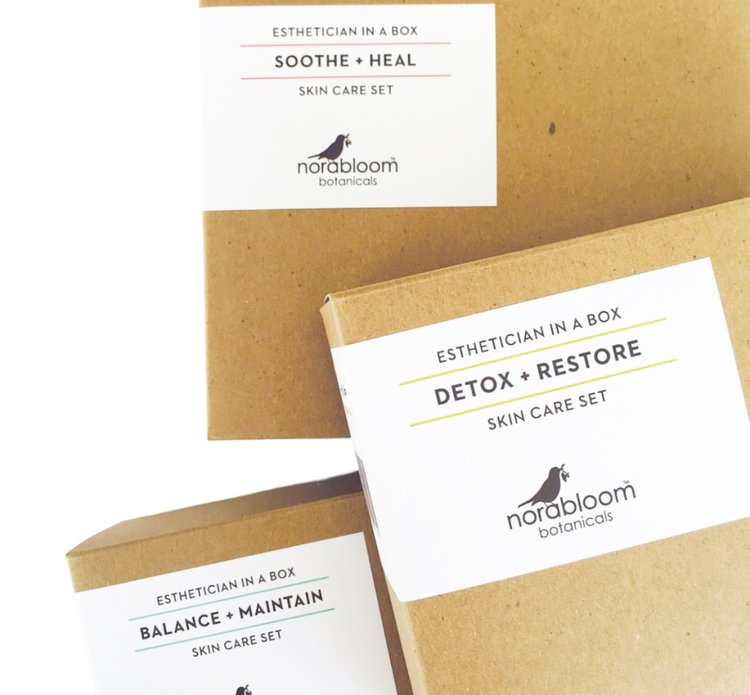 Esthetician In A Box — Norabloom Botanicals & Beauty Lounge
