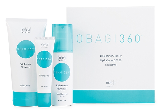 The perfect introduction to Obagi. This system helps prevents the loss of radiance, reduces fine lines and wrinkles and evens dull skin tone.