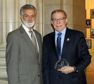 Mayor Frank Jackson and George Leggiero