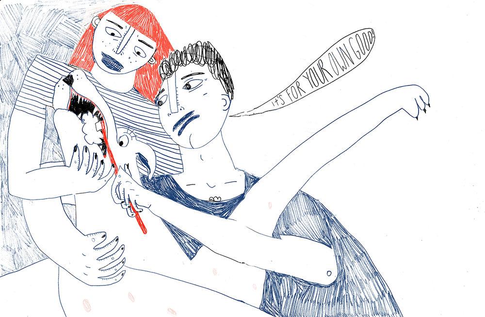 personal illustration; 2018
