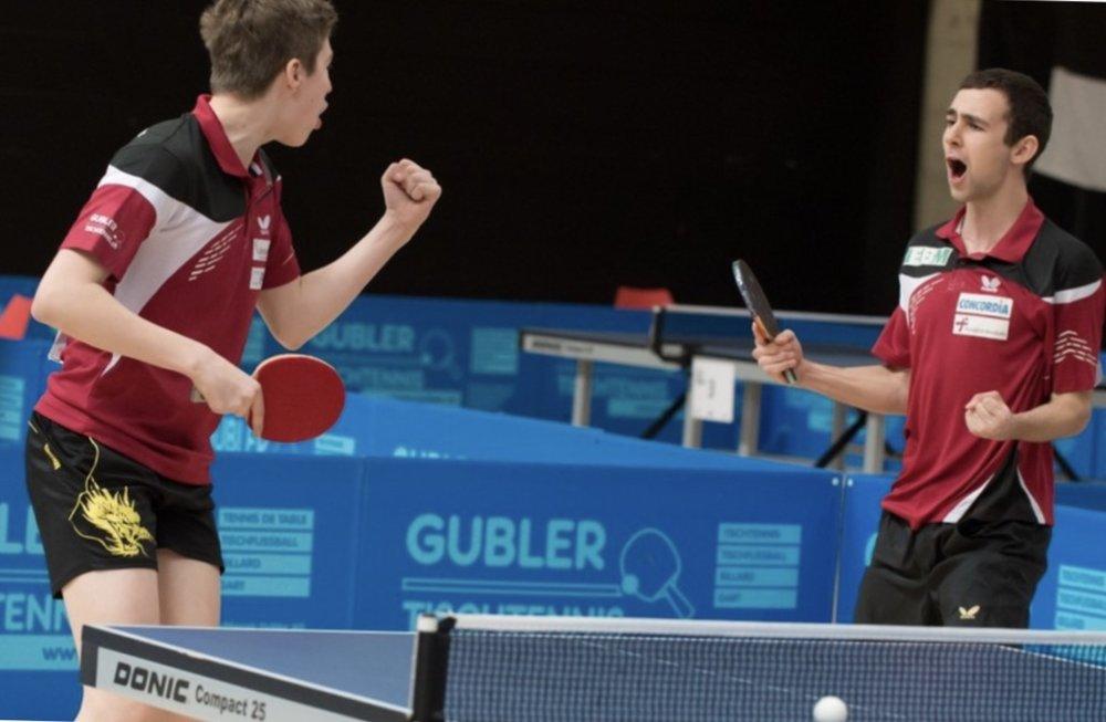 Cédric Tschanz und Lionel Weber (Foto: CS Elite 2016)