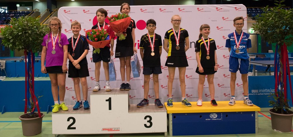 Podest U13 Mixed-Doppel